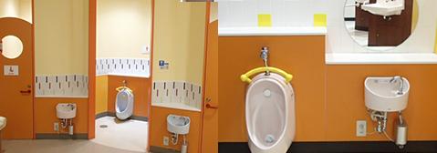 キッズトイレの画像