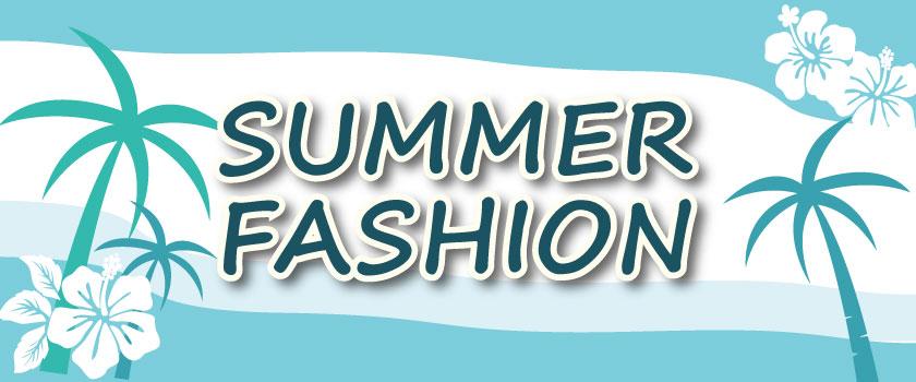 夏ファッションバナー