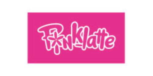 ピンク ラテのロゴ画像